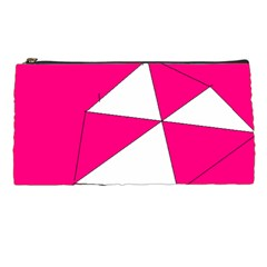Pink White Art Kids 7000 Pencil Case