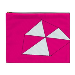 Pink White Art Kids 7000 Cosmetic Bag (xl)