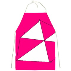 Pink White Art Kids 7000 Apron