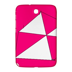 Pink White Art Kids 7000 Samsung Galaxy Note 8.0 N5100 Hardshell Case  by yoursparklingshop