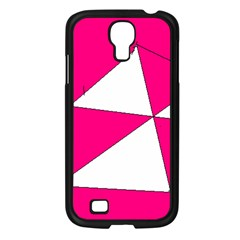 Pink White Art Kids 7000 Samsung Galaxy S4 I9500/ I9505 Case (black)