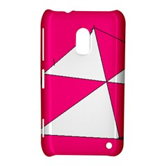 Pink White Art Kids 7000 Nokia Lumia 620 Hardshell Case by yoursparklingshop