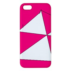 Pink White Art Kids 7000 Iphone 5s Premium Hardshell Case by yoursparklingshop