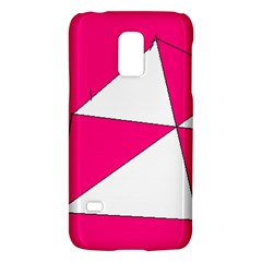 Pink White Art Kids 7000 Samsung Galaxy S5 Mini Hardshell Case