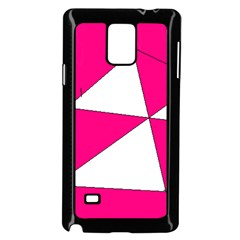 Pink White Art Kids 7000 Samsung Galaxy Note 4 Case (black) by yoursparklingshop