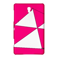 Pink White Art Kids 7000 Samsung Galaxy Tab S (8.4 ) Hardshell Case  by yoursparklingshop