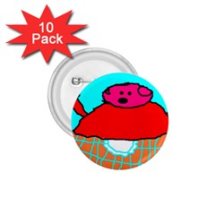 Sweet Pig Knoremans, Art By Kids 1 75  Button (10 Pack) by yoursparklingshop