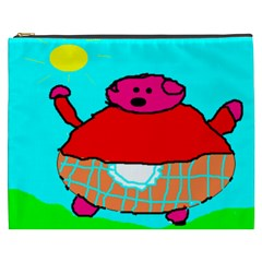 Sweet Pig Knoremans, Art By Kids Cosmetic Bag (xxxl)
