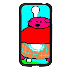 Sweet Pig Knoremans, Art By Kids Samsung Galaxy S4 I9500/ I9505 Case (black)