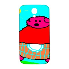 Sweet Pig Knoremans, Art By Kids Samsung Galaxy S4 I9500/i9505  Hardshell Back Case by yoursparklingshop