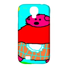 Sweet Pig Knoremans, Art By Kids Samsung Galaxy S4 Classic Hardshell Case (pc+silicone) by yoursparklingshop