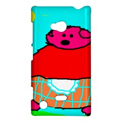Sweet Pig Knoremans, Art By Kids Nokia Lumia 720 Hardshell Case by yoursparklingshop