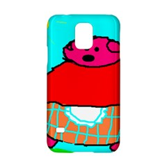 Sweet Pig Knoremans, Art By Kids Samsung Galaxy S5 Hardshell Case  by yoursparklingshop