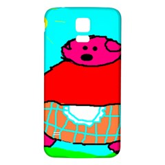 Sweet Pig Knoremans, Art By Kids Samsung Galaxy S5 Back Case (white) by yoursparklingshop