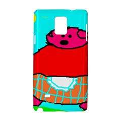 Sweet Pig Knoremans, Art By Kids Samsung Galaxy Note 4 Hardshell Case