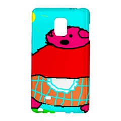 Sweet Pig Knoremans, Art By Kids Samsung Galaxy Note Edge Hardshell Case by yoursparklingshop