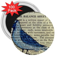 Bird 3  Button Magnet (100 Pack) by boho