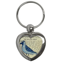 Bird Key Chain (heart) by boho