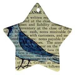 Bird Star Ornament (two Sides) by boho