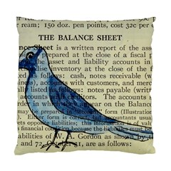 Bird Cushion Case (two Sided)