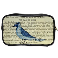 Bird Travel Toiletry Bag (two Sides) by boho
