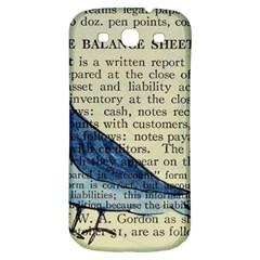 Bird Samsung Galaxy S3 S Iii Classic Hardshell Back Case by boho
