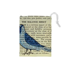 Bird Drawstring Pouch (small)