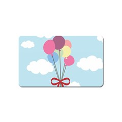 Balloons Magnet (name Card) by Kathrinlegg