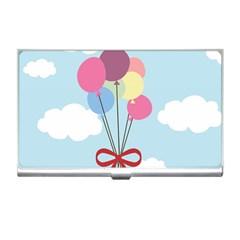 Balloons Business Card Holder by Kathrinlegg