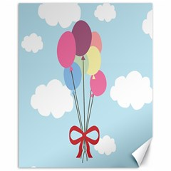 Balloons Canvas 11  X 14  (unframed) by Kathrinlegg