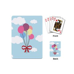 Balloons Playing Cards (Mini) by Kathrinlegg