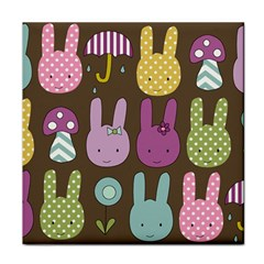 Bunny  Ceramic Tile by Kathrinlegg