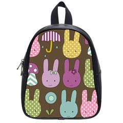 Bunny  School Bag (small) by Kathrinlegg