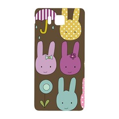 Bunny  Samsung Galaxy Alpha Hardshell Back Case by Kathrinlegg