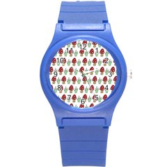 Mushrooms Plastic Sport Watch (small) by Kathrinlegg