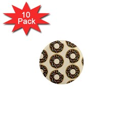 Donuts 1  Mini Button Magnet (10 Pack) by Kathrinlegg