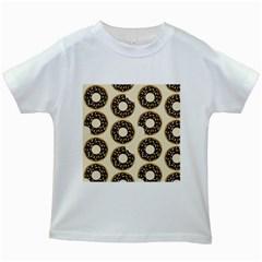Donuts Kids T Shirt (white) by Kathrinlegg