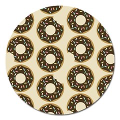 Donuts Magnet 5  (round) by Kathrinlegg