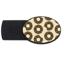Donuts 2gb Usb Flash Drive (oval) by Kathrinlegg