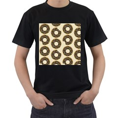 Donuts Men s Two Sided T Shirt (black)