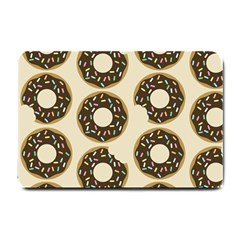 Donuts Small Door Mat by Kathrinlegg