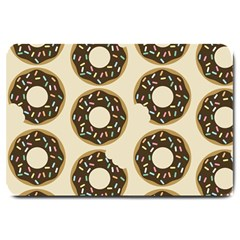 Donuts Large Door Mat by Kathrinlegg