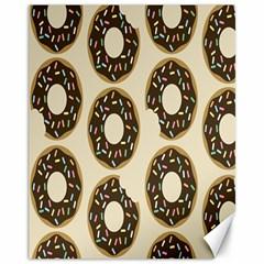 Donuts Canvas 11  X 14  (unframed) by Kathrinlegg