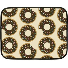 Donuts Mini Fleece Blanket (two Sided) by Kathrinlegg