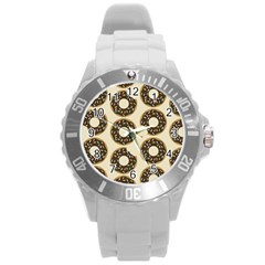 Donuts Plastic Sport Watch (large) by Kathrinlegg