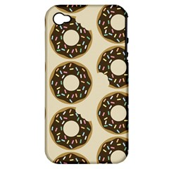 Donuts Apple Iphone 4/4s Hardshell Case (pc+silicone) by Kathrinlegg