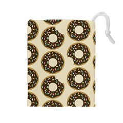 Donuts Drawstring Pouch (large)