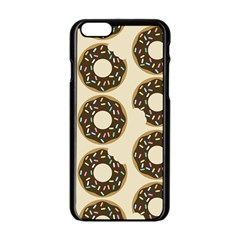 Donuts Apple Iphone 6 Black Enamel Case by Kathrinlegg