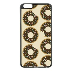 Donuts Apple Iphone 6 Plus Black Enamel Case by Kathrinlegg