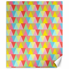 Triangle Pattern Canvas 8  X 10  (unframed) by Kathrinlegg